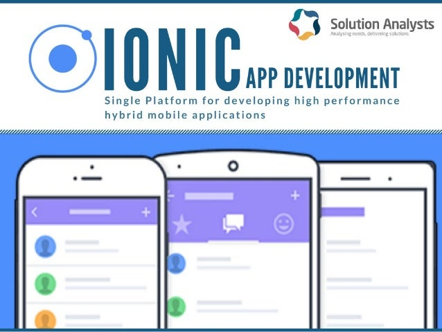 Ionic mobile app development framework empowers developers to build beautiful, high-performing hybrid mobile applications....