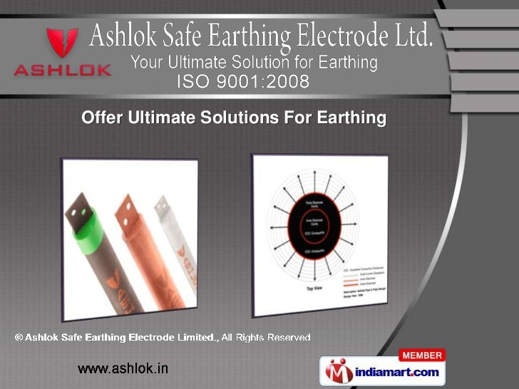 Offer Ultimate Solutions For Earthing