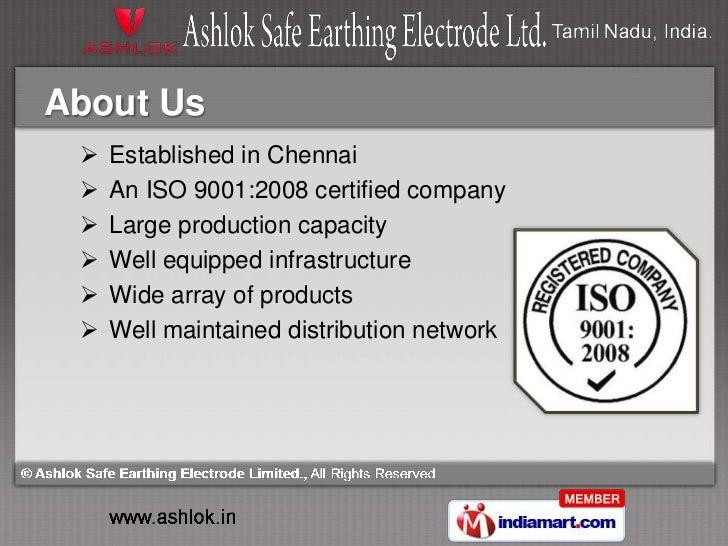 Ionic Breathing Technology by Ashlok Safe Earthing Electrode Limited., Chennai Slide 2