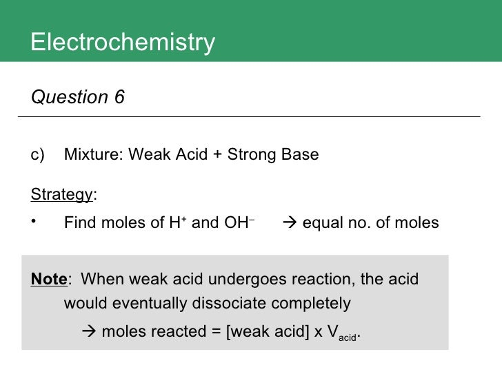acids and bases exercises We encounter many examples of acids and bases in our daily lives some  common examples of household  acids and bases exercise 91 in each of  the.