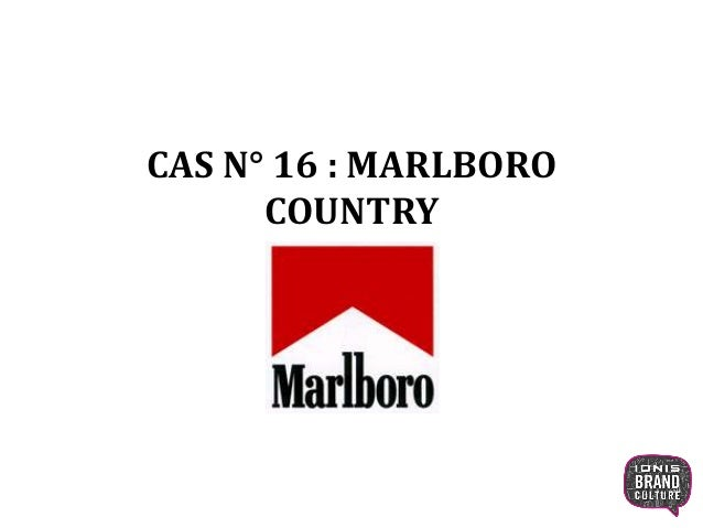 CAS N° 16 : MARLBORO COUNTRY 1