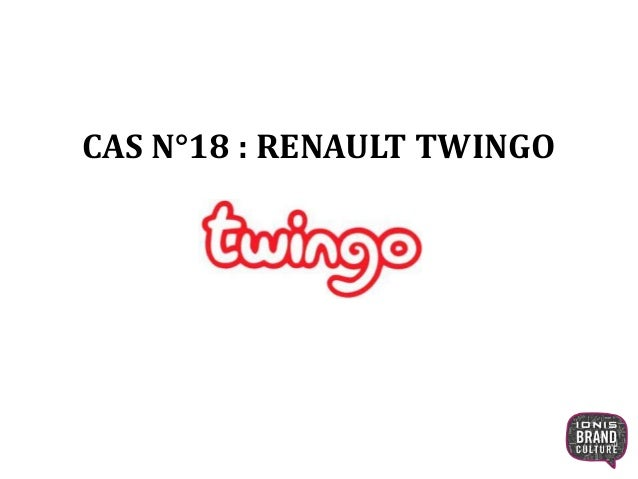 CAS N°18 : RENAULT TWINGO 1
