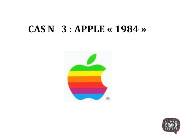 CAS N 3 : APPLE « 1984 »