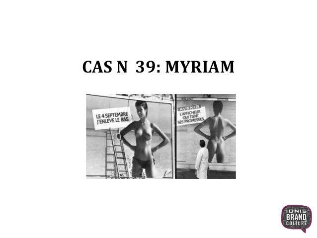 CAS N 39: MYRIAM