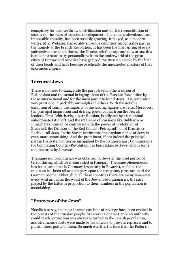 Zionism versus bolshevism Slide 2