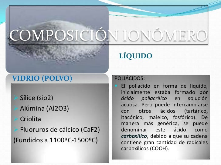 ce1f2f9d92 Ionomero de vidrio