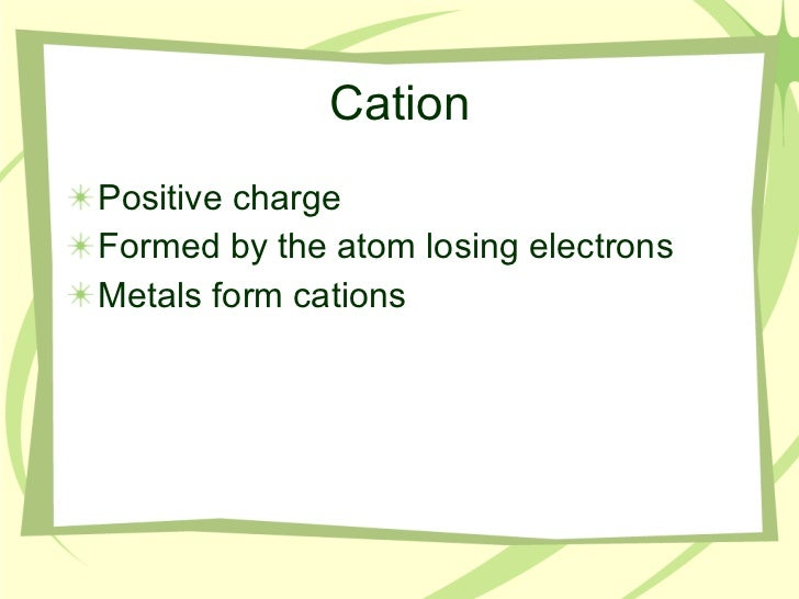 Ions Isotopes