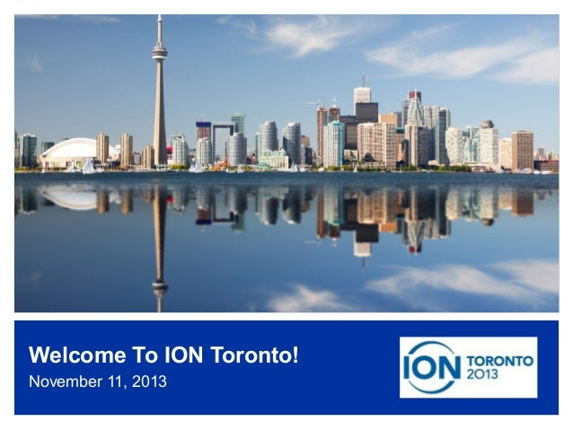 ION Singapore Event highlights  Welcome To ION Toronto! November 11, 2013 www.internetsociety.org/deploy360/