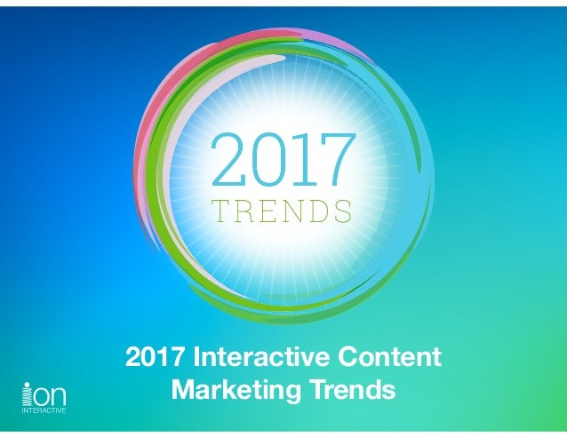2017 Interactive Content