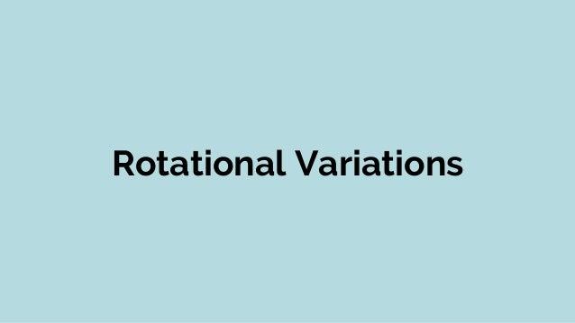 Rotational Divisions