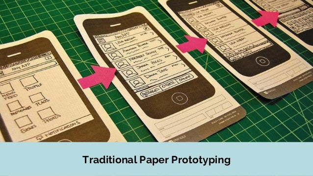 Io paper prototyping for the future