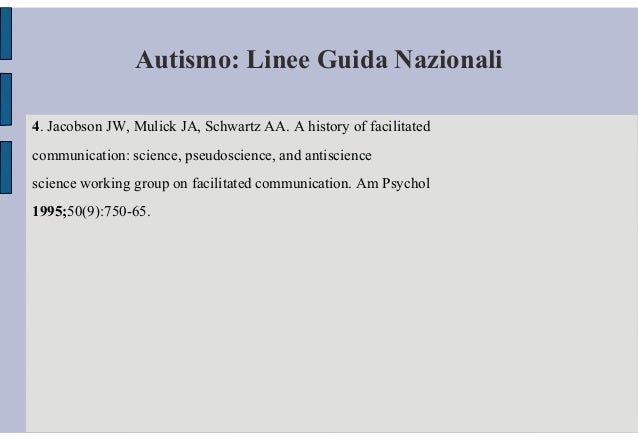 draft national guideline for autism assessment