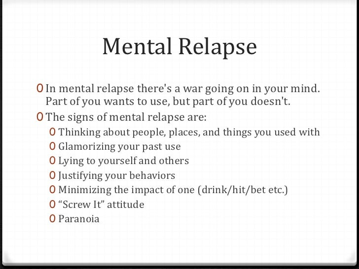 Iop part 8 relapse prevention part 1