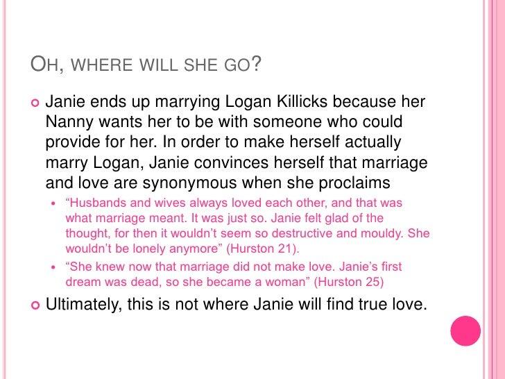 logan killicks and janie relationship counseling