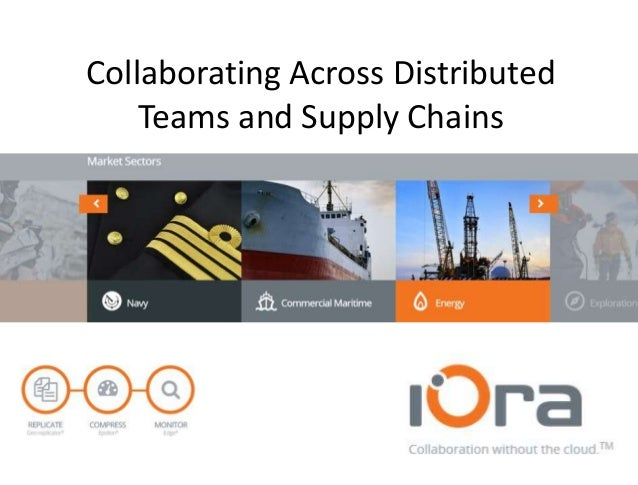 Collaborating Across Distributed Teams and Supply Chains