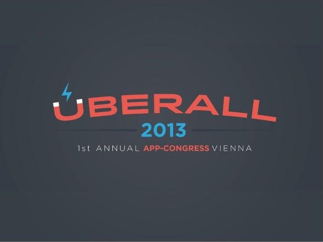 Konzeption iOS – die App•Unique Look & Feel (GFX, DEV, UX)(iOS7: bringt neues mit sich – falcher mit Tiefeneffekt)•Geprüft...
