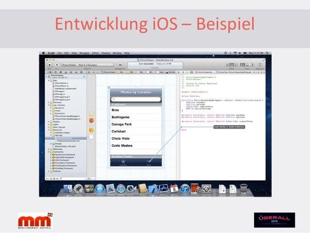 """Publishing iOS•im Apple App Store genannt """"App Store""""•man kann zur App im App Store verlinken– Website (Conversion-Trackin..."""