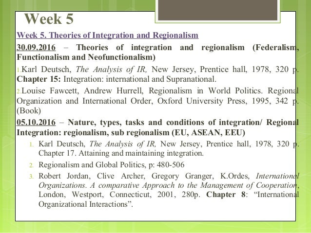 theories of international organization International relations, principal theories are decisive in this view international relations is essentially a story of great power politics.