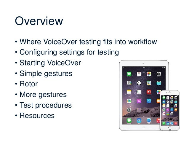iOS VoiceOver Testing Techniques & Procedures for Absolute