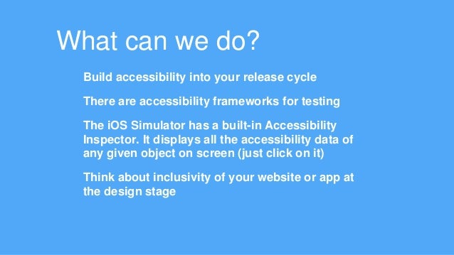 The Good, The Bad, The Voiceover - ios Accessibility