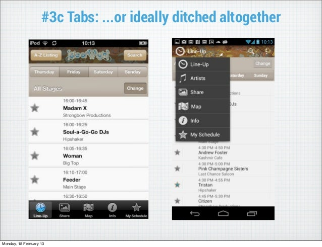 #3c Tabs: ...or ideally ditched altogetherMonday, 18 February 13