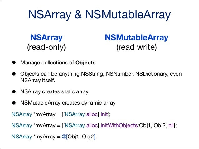 getting and setting values •  Values are being accessed using array index  • •  myArray[2] // will return 3rd object. Inde...