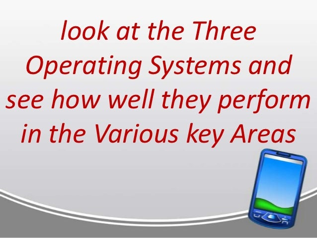 comparison of operating systems Comparison of operating systems essays operating systems have evolved from simple standalone and command line programs like msdos to distributed multi-user systems.
