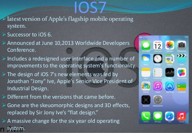 Features of iOS-7 Slide 2
