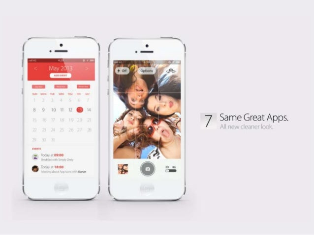iOS 7 Concept: Welcome to the future of the iPhone Slide 2