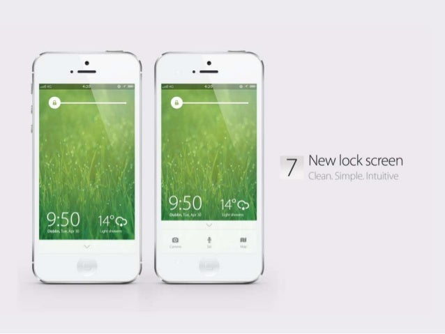 iOS 7 Concept: Welcome to the future of the iPhone Slide 3