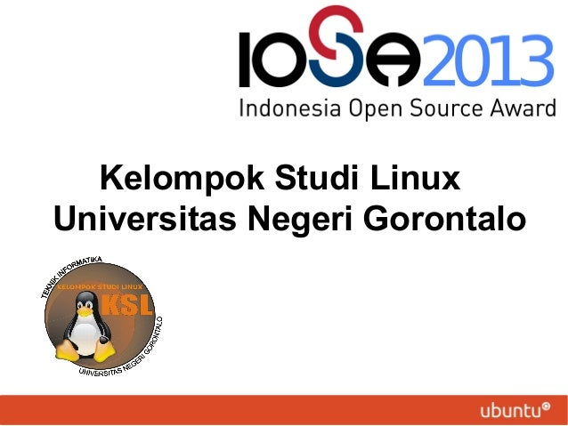 Kelompok Studi Linux Universitas Negeri Gorontalo