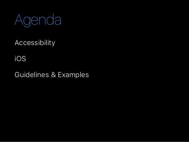 iOS Accessibility Slide 2