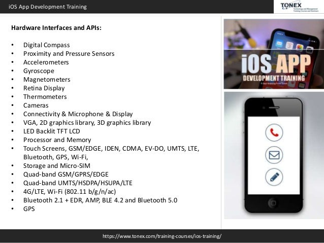 iOS App Development : Tonex Training