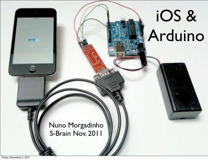 iOS &                                               Arduino                           Nuno Morgadinho                     ...