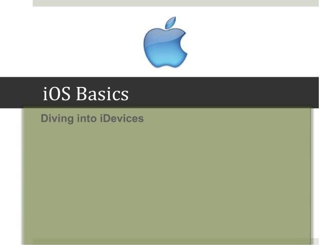 iOS Basics