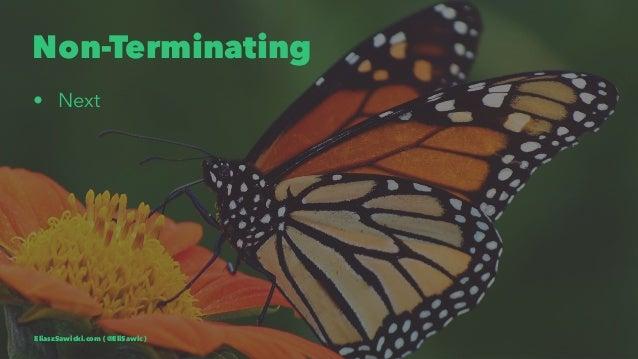 Non-Terminating • Next EliaszSawicki.com ( @EliSawic )
