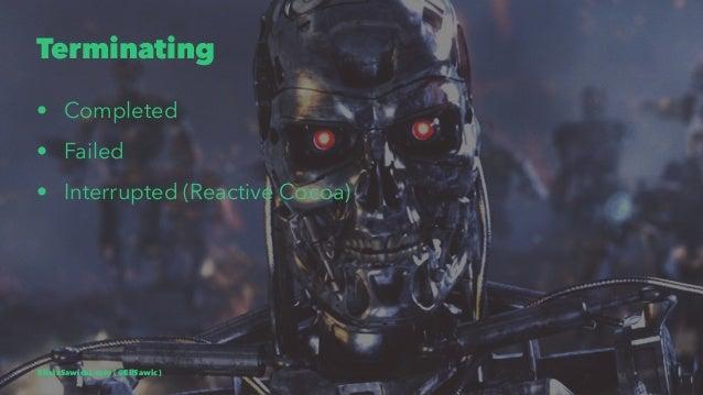 Terminating • Completed • Failed • Interrupted (Reactive Cocoa) EliaszSawicki.com ( @EliSawic )
