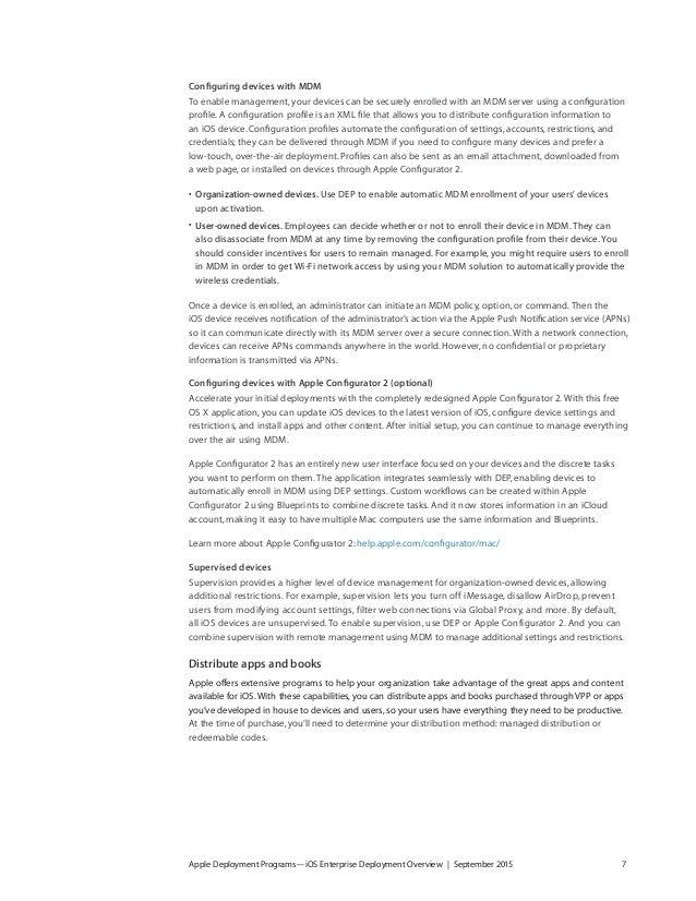 I os enterprisedeploymentoverview apple deployment programsios enterprise deployment overview september 2015 6 7 malvernweather Images
