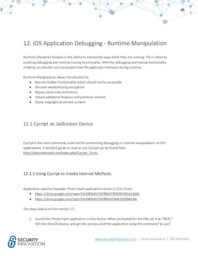 Hacking iOS Applications: A Detailed Testing Guide
