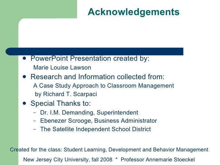 Classroom Management Techniques   Video   Lesson Transcript