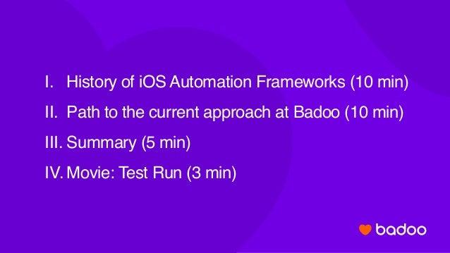 Супер быстрая автоматизация тестирования на iOS Slide 2