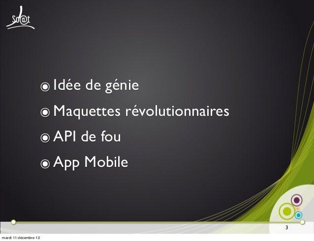 Immersion à iOS - Soat Slide 3