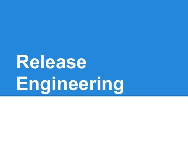 ReleaseEngineeringi