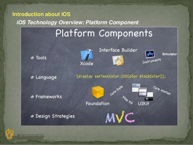 Introduction about iOS iOS Technology Overview: Platform Component