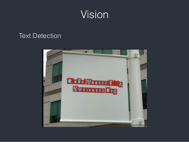iOS Vision framework
