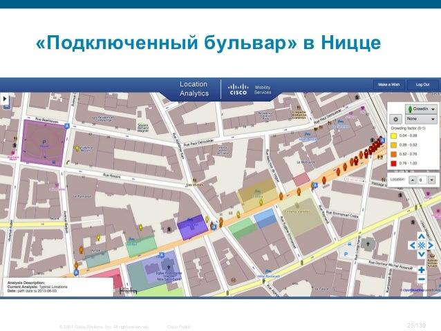 © 2007 Cisco Systems, Inc. All rights reserved. Cisco Public 25/139 «Подключенный бульвар» в Ницце