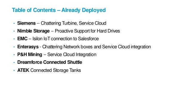 Salesforce Intro to the Internet of Things