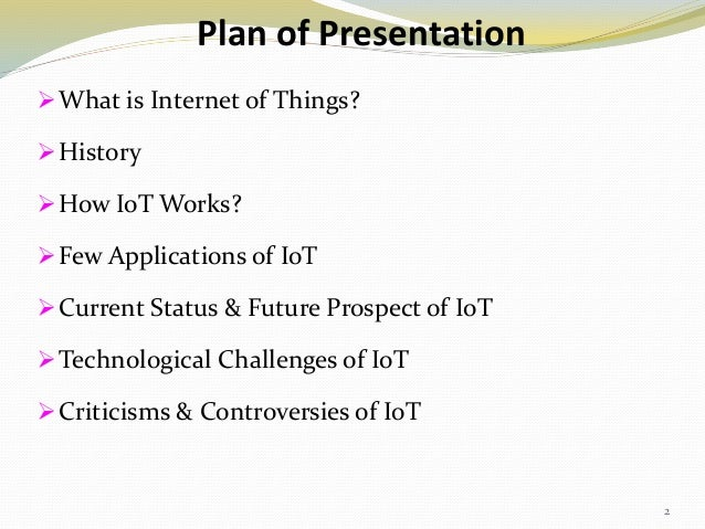 A basic PPT on Internet Of Things(IOT)