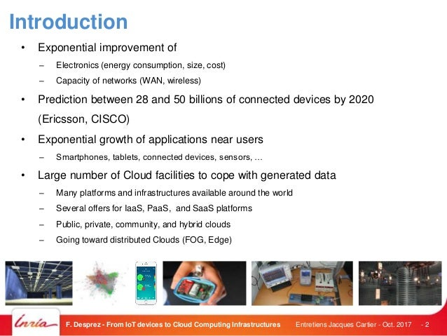From IoT Devices to Cloud Slide 2