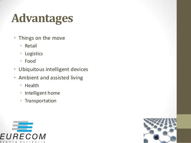 internet of things advantages and disadvantages pdf